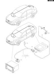 Volkswagen adapter wiring harness for vehicles with reversing camera system
