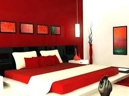 Red And White Bedroom Red Bedroom Idea Red Bedroom Wall Color Ideas ...