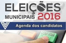 Resultado de imagem para agenda dos candidatos