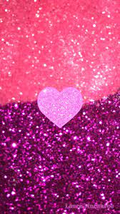 Iphone Aesthetic Pink Glitter Wallpaper ...