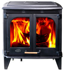 hiflame 85 000 btu h extra large wood stove with double glass doors traditional freestanding stoves by olymberyl america inc