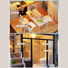 mini doll furniture. DIY-Doll-House-Wooden-Doll-Houses-Miniature-dollhouse- Mini Doll Furniture