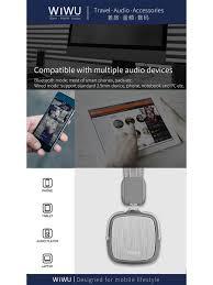 Беспроводные <b>наушники Wiwu</b> HiFi Sound <b>Metro</b>-<b>II WiWU</b> ...