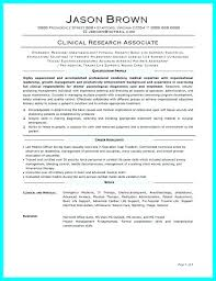 Sample Pta Resume Extraordinary Senior Clinical Research Associate Resume Sample Trial Ass