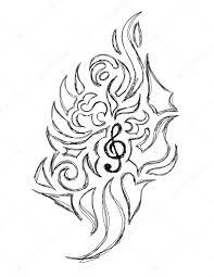 Tetování Houslový Klíč Význam