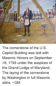 「1793 Capitol cornerstone is laid」の画像検索結果