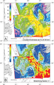 Flemish Cap Chart Comparison Of Lithosphere Structure Across The Orphan Basin
