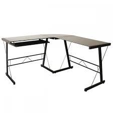 ebay office desks. L-Shape Corner Computer Desk Glass Laptop Table Workstation Home Office L128 Ebay Desks