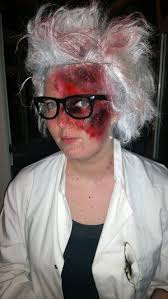 burn mad scientist makeup visit my facebook for more regular updateore images
