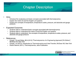 BTV2213 Thermodynamics Chapter 1: Introduction of Thermodynamics ...