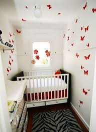 nursery furniture for small spaces. Aleena\u0027s Closet-turned-nursery Just Goes To Show That Small IS Cool And One Clever Feature Like These Fluttering Butterflies Can Totally Make The Room Nursery Furniture For Spaces S