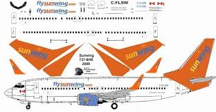 Sunwing Airlines Seating Chart Sunwing Aircraft Seat Chart Boeing 767 400 Seating Chart