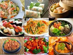 What is asian food