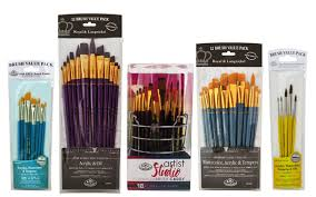 Buy Oil Acrylic Brushes By Davinci Winsor Newton