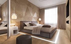 Teppich modern braun beige kurzflor mit gestreift wohnzimmer teppiche. 30 Ideen Fur Moderne Schlafzimmergestaltung Mit Lamellenwand