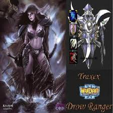 traxex the drow ranger guide build dota gamers