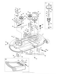 troy bilt 13wx78ks011 bronco 2010 parts diagram for mower deck zoom