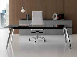 glass top office table chic. Home Furniturerhteknoagaincom Decor Stunning Design Using Chic Computer Rhandersonesquecom Office Table With Glass Top N