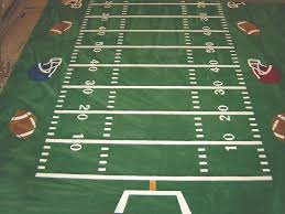 pretentious football rugs field carpet vidalondon