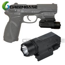 G17 Light Bulb Greenbase Tactical Flashlight Micro Qd Compact Glock Airsoft Pistol Light Glock 17 18c 19 22 Weapon Flashlight Outdoor Hunting