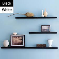 black or white furniture. Floating Shelves In White, Black | 100x30x4cm Matt Wall Mounted Shelving Storage Bookshelves Or White Furniture U