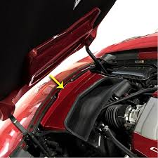 c7 corvette custom painted air intake cover replacement all models