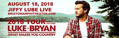 Jiffy Lube Live Seating Chart Luke Bryan Luke Bryan Jon Pardi Morgan Wallen Tickets 18th August