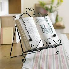 recipe cookbook stand for home baking