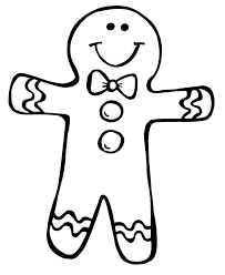 gingerbread cookie clipart black and white. Contemporary Gingerbread FREE Gingerbread Boy Girl Clipart  Education Library Inside Cookie Black And White Library