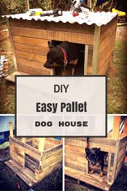 Creative Dog Houses How To Make A Dog House Using Pallets In Easy Way Dog Houses