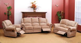 beige reclining sofa. Perfect Reclining And Beige Reclining Sofa L