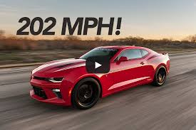 751 HP Hennessey Camaro SS Tested to 202.1 MPH | Hennessey Performance