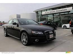 black audi 2010. phantom black pearl effect audi a4 2010 1