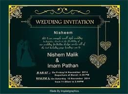 Get standout invites that are guaranteed to impress. 18 Best Design Muslim Wedding Cards Online Free Cherry Marry