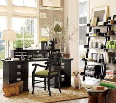 decorating with leaning ladder shelves leaning shelves are affordable open airy bookshelves office great