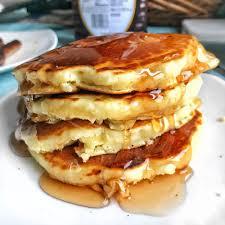 pancakes with no baking powder