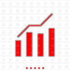 Clip Art Charts And Graphs Growth Column Chart Bar Graph Stock Vector Image