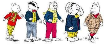 Image result for rupert the bear