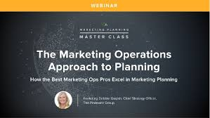 Marketing Planner Excel How Marketing Operations Leads The Annual Planning Process