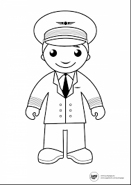 wonderful pilot printable coloring pages with community helpers    wonderful pilot printable coloring pages   community helpers coloring pages and community helpers coloring pages crafts