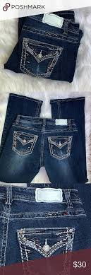 Shyanne Jeans Size Chart Shyanne Womens Bootcut Jeans Excellent Preowned Condition