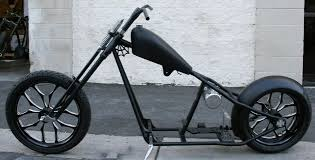 n140 real west coast choppers 4 up cfl rolling chassis malibu