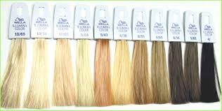 Wella Midway Couture Color Chart 56 Specific Wella Hair Colors Chart