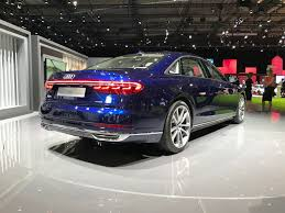 2018 audi s8 plus.  audi while in stock pictures the audi a8 just looks like another big audi it  something genuinely premium person it has size presence and style  with 2018 audi s8 plus