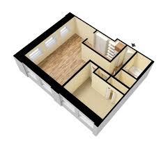 750 sq ft unfurnished