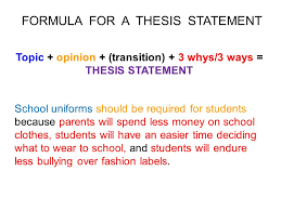 how to write a thesis statement ppt video online 15 topic