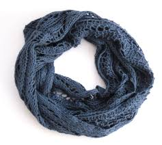 Knitted Infinity Scarf Pattern New Decoration