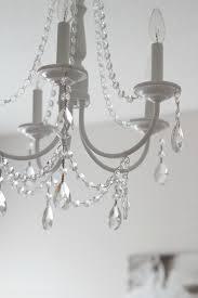 6diy crystal chandelier to make it