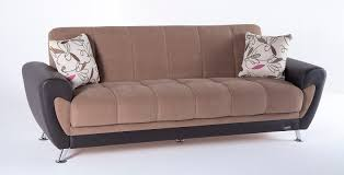 Sofa Bedroom Furniture Duru Optimum Brown Convertible Sofa Bed By Sunset