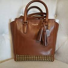 Coach legacy studded Mini Tanner Tote